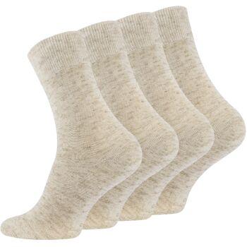 Herren Baumwoll-Leinen Socken