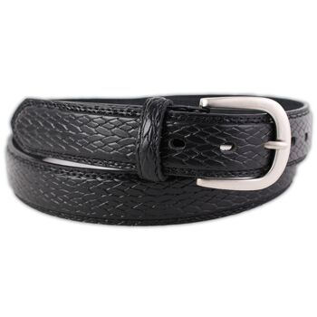 Herren Gürtel Hochwertige Echt Leder Ledergürtel Jeansgürtel Business Freizeit - 2,69 Euro