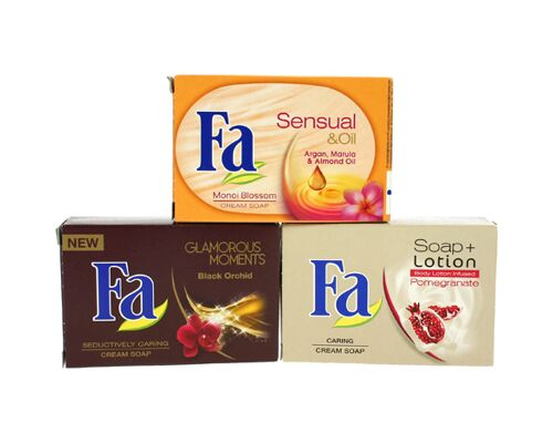 12-997799, Fa Seife 100g Pomegranate  Soap + Lotion
