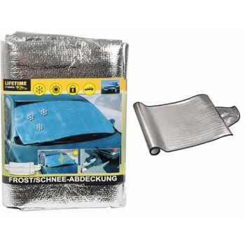 28-229508, Frostschutzdecke aus Aluminiumfolie mit Schaumrückseite, Schneeschutzdecke, Sonnenschutzdecke