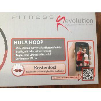 Hula Hoop Reifen Schaumstoff Fitness Evolution NEU/OVP