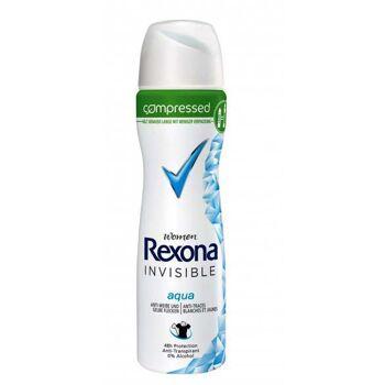 Rexona Women Deo Spray aqua / 75 ml / Euro 1 / made in Germany /  / NUR Export - deutscher Hersteller - Made in Germany - 1A Ware/  B Ware ! Euro-1 Ware!