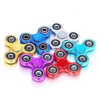 Metallic Fidget Spinner Hand Finger Spinner Anti Stress Konzentration Kreisel Spielzeug Toy ADS ADHS