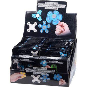 28-067605, Handspinner 6x6,5 cm, mit 5, 4 und 3 Armen,