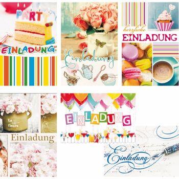 28-479203, Karten Einladung, Geschenkkarten