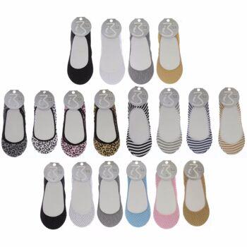 28-551497, Füßlinge Ballerina, Damenschuh, Schuhe++++++++