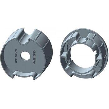Adapter-Set mit Flach-/Rund-/MHZ-Nut, Medium, intelligente Rohrmotoren