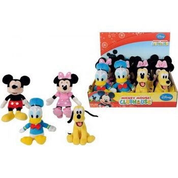 Disney Mickey Mouse Clubhouse 4-Sorten, 20cm , 1 Stück