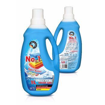 Waschgel No.1 - Universal Flüssigwaschmittel 3  Liter