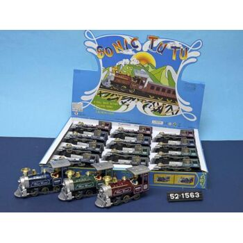 DC Lokomotive, Rückzug, L+S, 15cm, sortiert, 1 Stück
