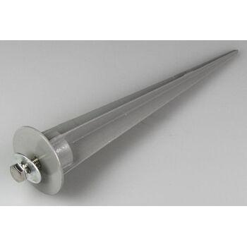 Erdspieß für 10W LED-Fluter, ØxL 4x16cm