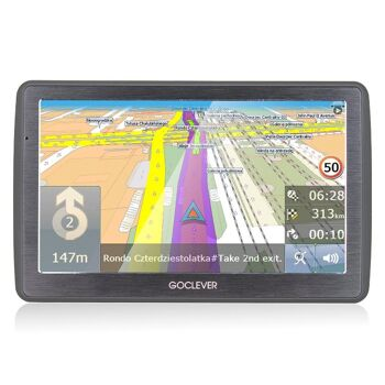 GoClever Navio 2 740 Navigationssystem GPS 7Zoll 8GB 1600mAh mobiles Navigationsgerät Navigation