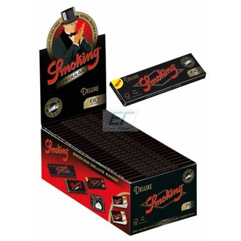 Smoking Paper Regular Black De Luxe 50er Box/60 Blatt