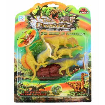 27-44508, Dinosaurier Set 7-teilig, Spielset, Spielfiguren
