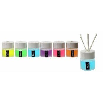 17-72662, Raumduft 100ml, Rose, Orange, Vanille, Lavendel, Ocean und Grüner Tee