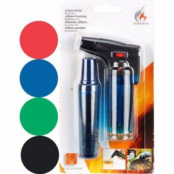 28-003696, Universalbrenner Flambierer Jet Flame, stufenlose Flammenregulierung, auch zum Flambieren geeignet