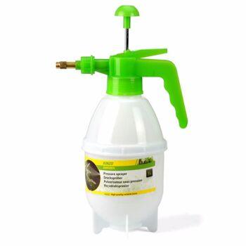 28-021539, KINZO Pflanzensprüher mit Pumpe, 1 Liter, Drucksprüher mit Metalldüse, einstellbarer Sprühstrahl