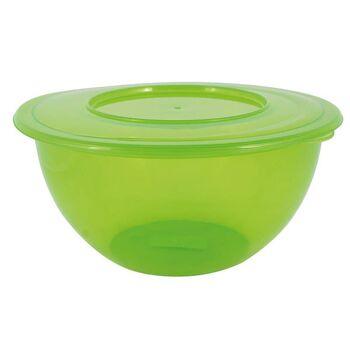 28-153844, Schüssel mit Deckel, 5 Liter, grün, Rührschüssel, Backschüssel