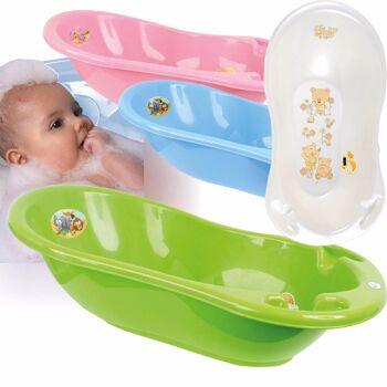 28-163430, Babywanne mit Thermometer, 86 x 46 x 29 cm Baby Badewanne
