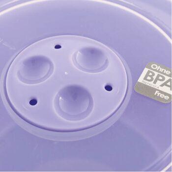 28-183384, Mikrowellendose 1 Liter, Mikrowellenschüssel mit Deckel mit Druckventil, geeignet für Gefrierschrank, Mikrowelle und Geschirrspüler, Geschirrspülmaschine