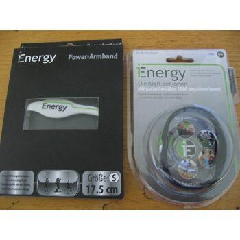 Power Energy Balance Armband Fitness Sport Silikon Band Powerarmband NEU