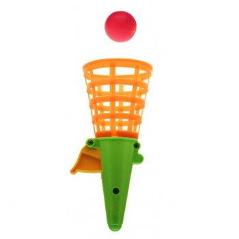 grosser Fangbecher 19 cm, mit Ball, Fangspiel, der Spiele Klassiker, geschraubte, hochwertige Qualität
