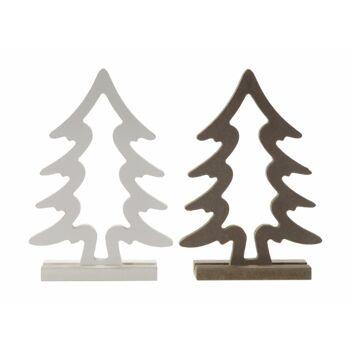 17-72622, Holz Deko Weihnachtsbaum 15 cm, Tannenbaum