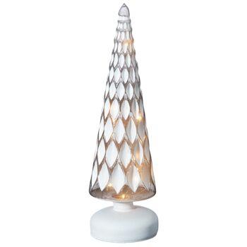 17-43401, Glas LED Baum 30 cm, LED Licht