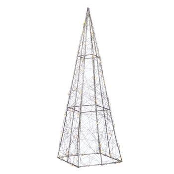 17-72740, LED Pyramide 40 cm, mit TIMER, 50 LED