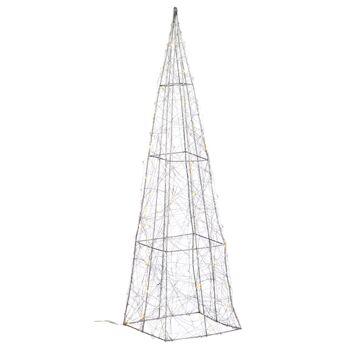 17-72741, LED Pyramide 60 cm, mit TIMER, 80 LED