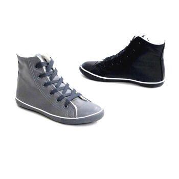 Kinder Jungen Mädchen Sneaker Schuhe Mix gefüttert Sportschuhe Freizeit - 6,79 Euro