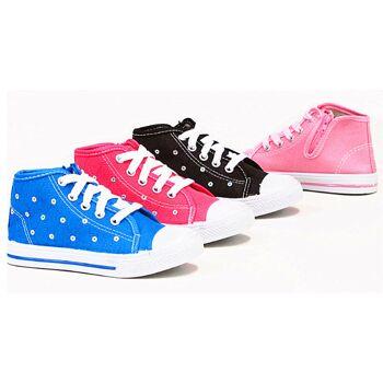 Kinder Jungen Mädchen Sneaker Schuhe Mix Schuh Shoes Sportschuhe Freizeit - 5,49 Euro