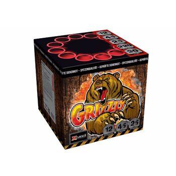 Grizzly Batteriefeuerwerk 12 Schuss