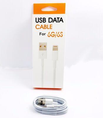 Lade & Datenkabel Lightning USB Iphone 100cm