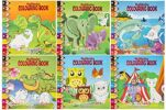 21-6855, Malbuch Tiere, Kindermalbuch Tiermotive