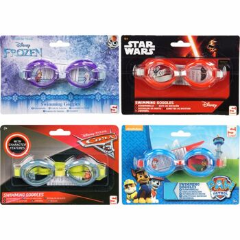 28-321768, Disney Kinder Schwimmbrille, Frozen, Finding Dory, Paw Patrol, Star Wars, Taucherbrille