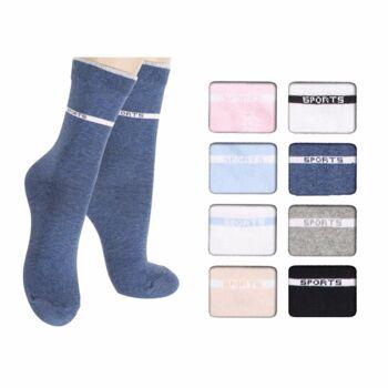 28-607369, Damen Socke 4er Pack, Gr. 35/38 -39/42, Damensocke, Damensocken, Strümpfe