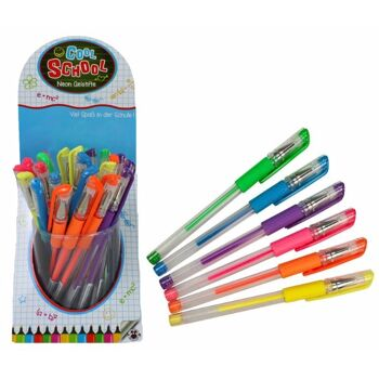 27-80119, COOL SCHOOL Neon Gelstifte