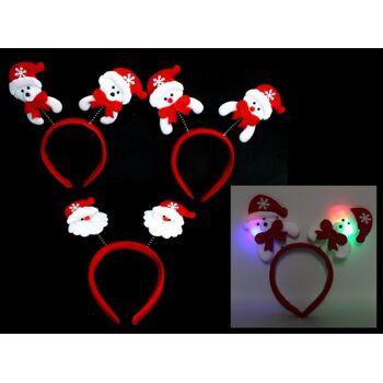 27-44513, LED Haarreif Weihnachtshaarreif leuchtend LED Licht