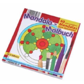 12-1102100, Mandala-Malbuch 40 Blatt perforiert