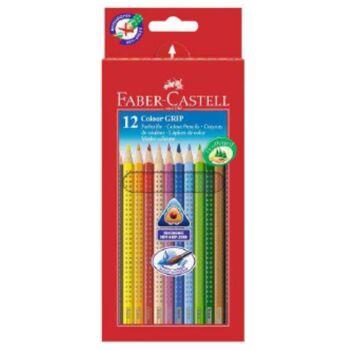 12-112412, Faber Castell Farbstift 12er Pack Colour Grip 2001