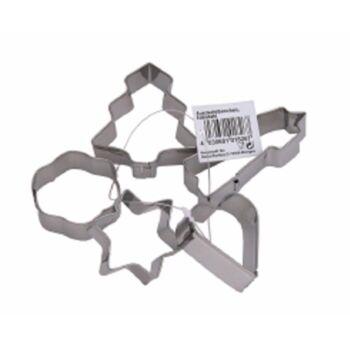 12-801899, Metall Ausstechformen 5er-Set, hochwertig