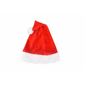 Weihnachtsmütze, Premium, rot-weiss