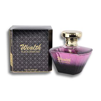 Parfüm Eau de Toilette Damen  Black Diamond Spray Duft Parfum 100 ml - 3,49 Euro