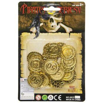 21-2379, Piratengeld, Piratenschatz, Piratenparty, Event, usw