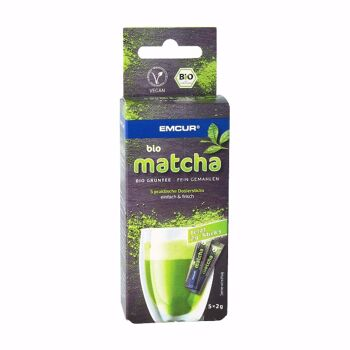 Bio Matcha Tee aus Japan Sticks Pulver 12 Stück Grüntee fein vermalhen bio vegan