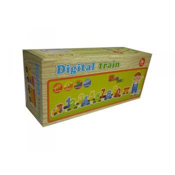 Holz-Digitalzug 12 tlg