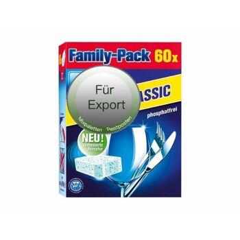 Spülmaschinen Tabs - spüllmittel - detergents - kitchen help -  / NUR Export - deutscher Hersteller - Made in Germany - 1A Ware/  B Ware ! Euro-1 Ware!