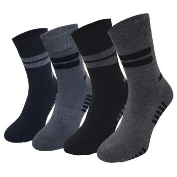 Garcia Pescara 4 Paar Winter Thermo Socken Wintersocken Größe 43-46 aus Baumwolle
