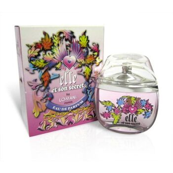 Parfueme Lomani - Elle et son Secret FRANCE 2000 - 100 ml  EDP   / deutscher Hersteller - Made in Germany - 1A Ware/  B Ware ! Euro-1 Ware!